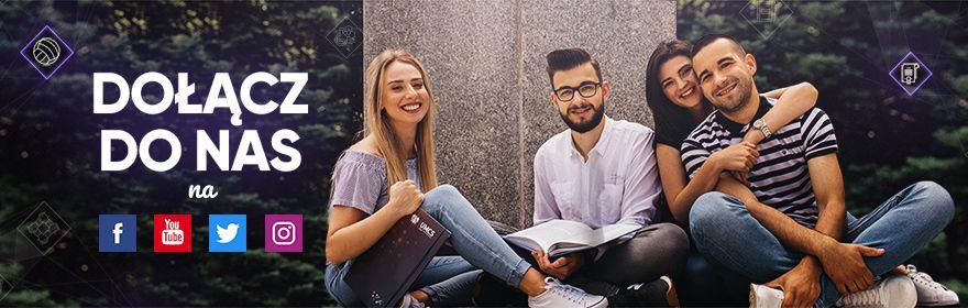 Poznaj nasz Uniwersytet dzięki mediom społecznościowym!