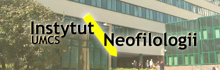 Witamy na stronie Instytutu Neofilologii