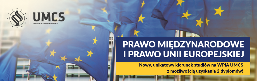 Studiuj prawo międzynarodowe i prawo Unii Europejskiej