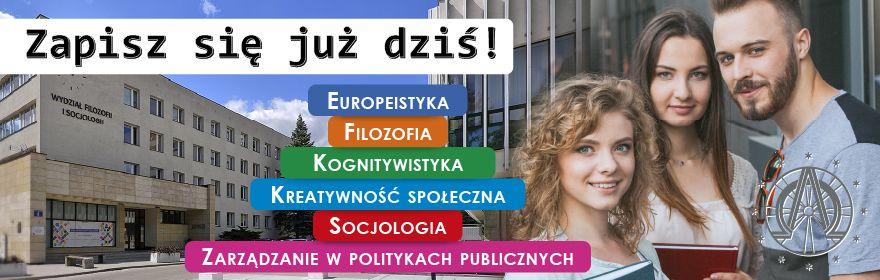 Rekrutacja na Wydziale Filozofii i Socjologii 2020/2021