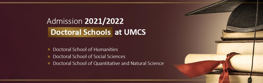 Doctoral Schools at UMCS - Admission 2021/2022