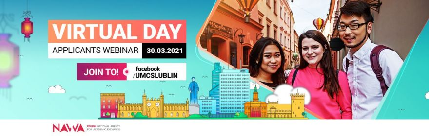 Virtual Open Day UMCS - applicants webinar