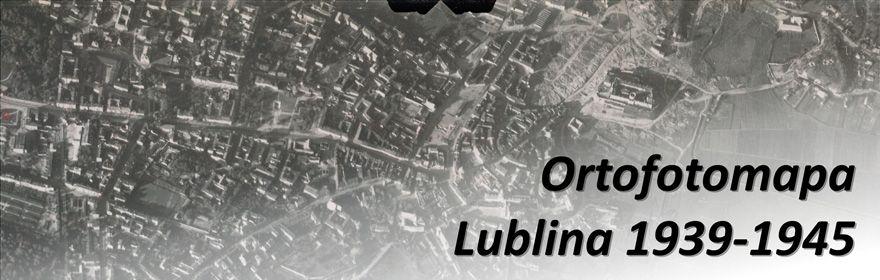 Ortofotomapa Lublina 1939-1945