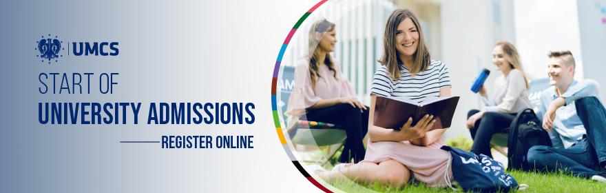 Admission 2021/2022 - Register Online