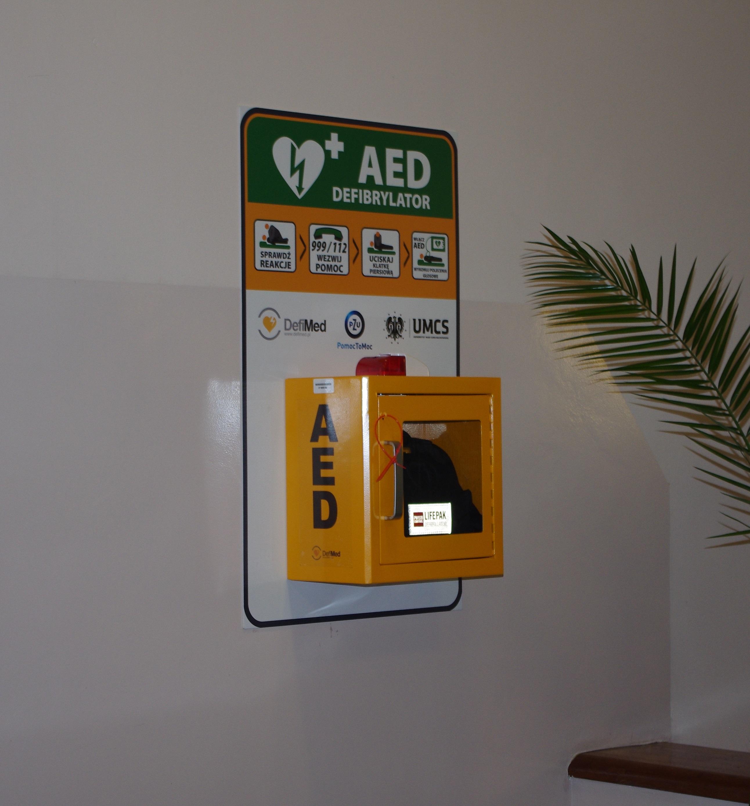 AED - Instytut Pedagogiki (ul. Prezydenta Gabriela Narutowicza 12.JPG