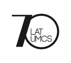 Logtyp obchodów 70-lecia UMCS