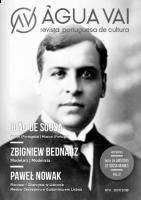 ÁGUA VAI – Revista Portuguesa de Cultura, nr 9