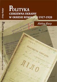 Okładka monografii Aleksego Kucy
