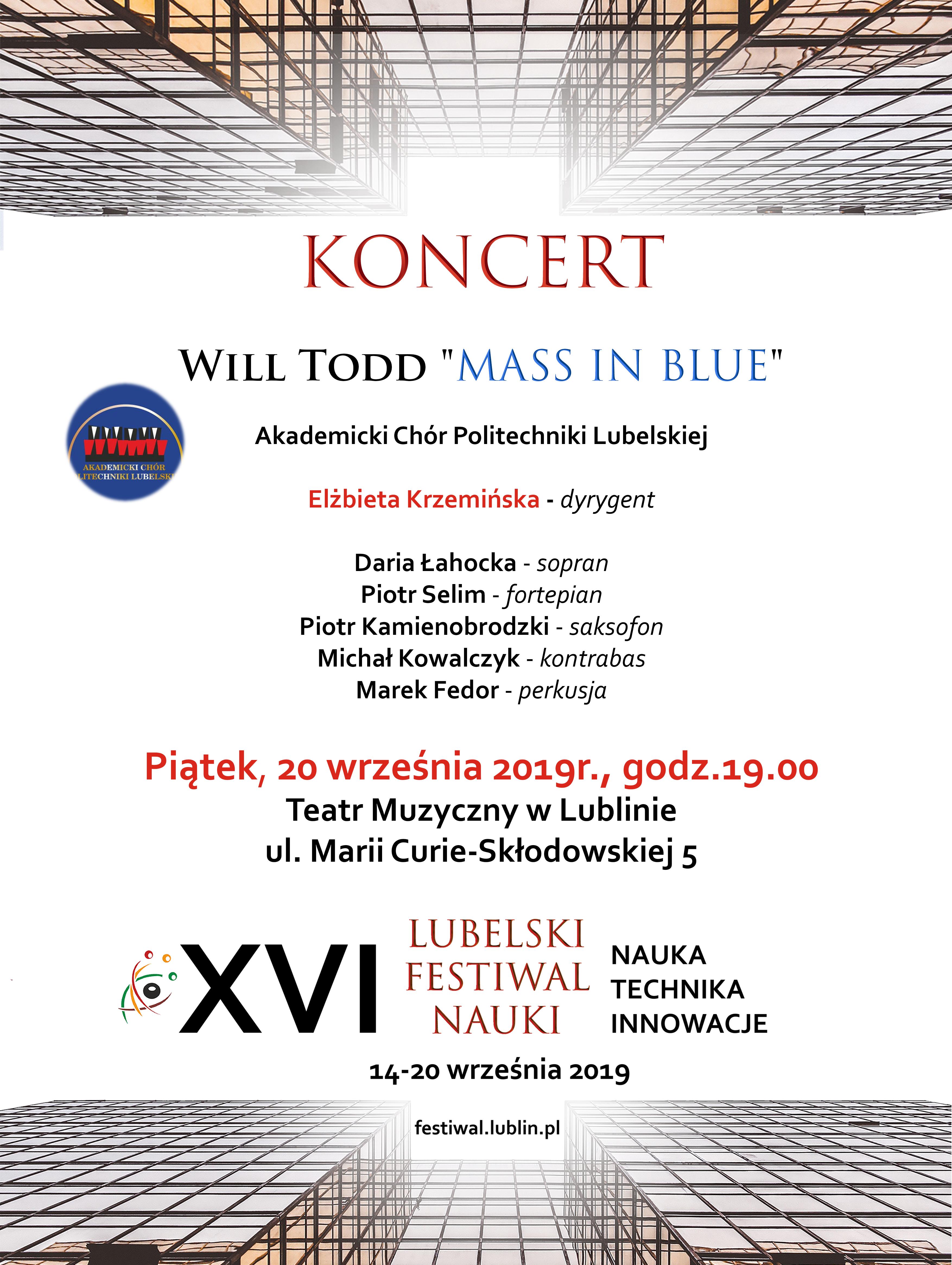 Koncert z okazji XVI Lubelskiego Festiwalu Nauki