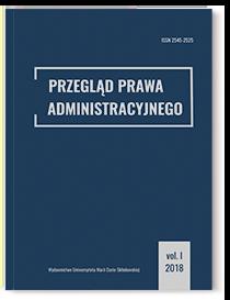 Przegląd Prawa Administracyjnego