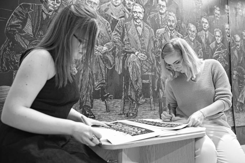 Studenci Wydziału Artystycznego w hołdzie Patronce UMCS