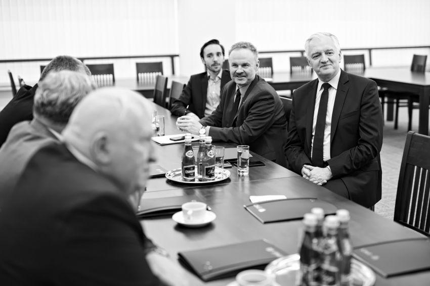 Wizyta Wiceprezesa Rady Ministrów, Ministra Nauki i...