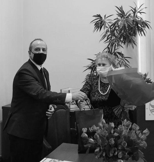 Jubileusz 60-lecia pracy zawodowej Prof. dr hab. Sabiny Guz