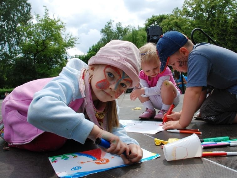 Dzień Dziecka w Ogrodzie Botanicznym 2009