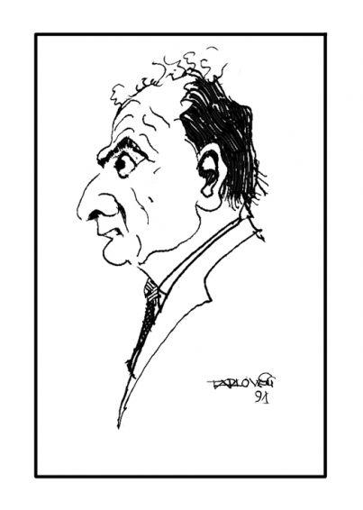 Profesorowie UMCS w karykaturach -