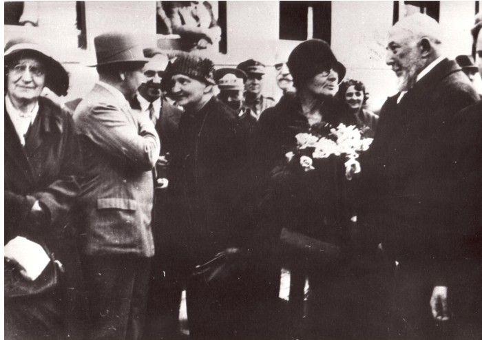 Poświęcenie Instytutu Radowego w Warszawie