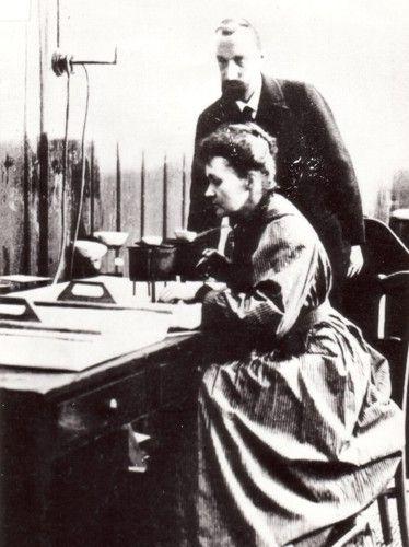 Z Piotrem Curie w laboratorium przy ul. Lhomond