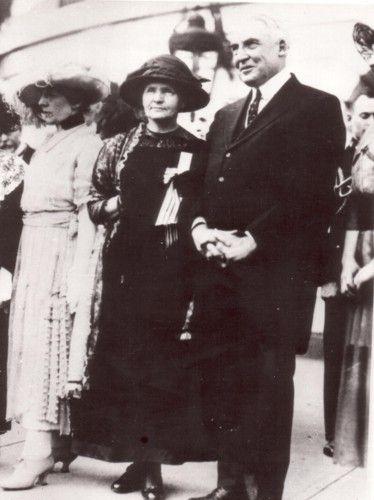 Z prezydentem Hardingiem, Biały Dom