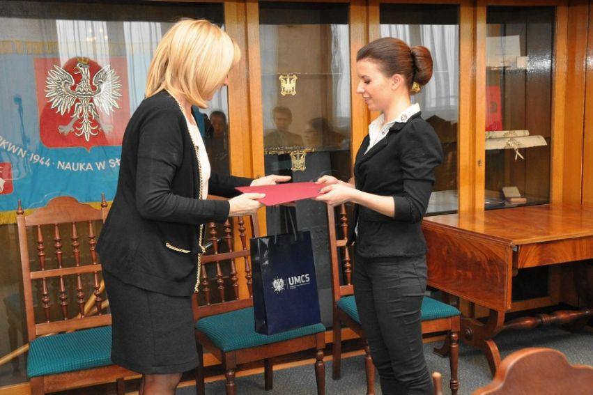 Wręczenie dyplomów laureatom stypendium MNiSW