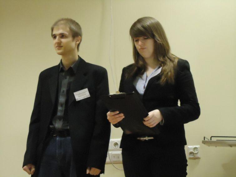 Łukasz Tkaczyk i Aleksandra Dąbrowska