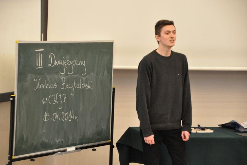 III Dwujęzyczny Konkurs Recytatorski