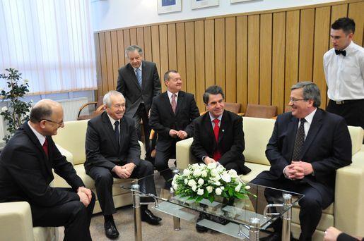 Wizyta Prezydenta RP Bronisława Komorowskiego na UMCS