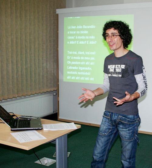 11.04.2008 - Dr PAULO RODRIGUES - WYKŁAD