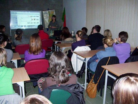 03.11.2009 - SPOTKANIE ZE STYPENDYSTAMI ERASMUS