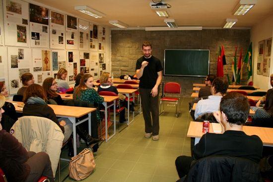 15.12.2011 CARLOS MARQUES - OPOWIADANIE HISTORII I WARSZTATY
