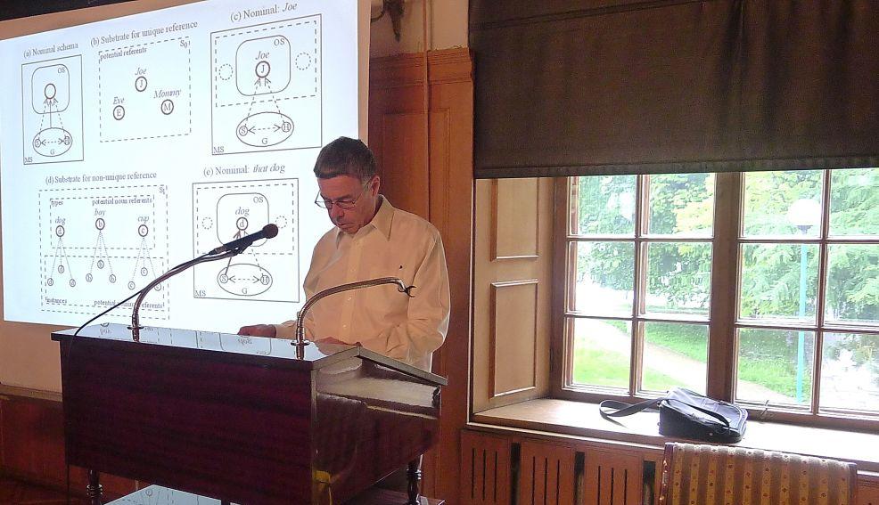 Wykłady z gramatyki kognitywnej Profesora Ronalda Langackera