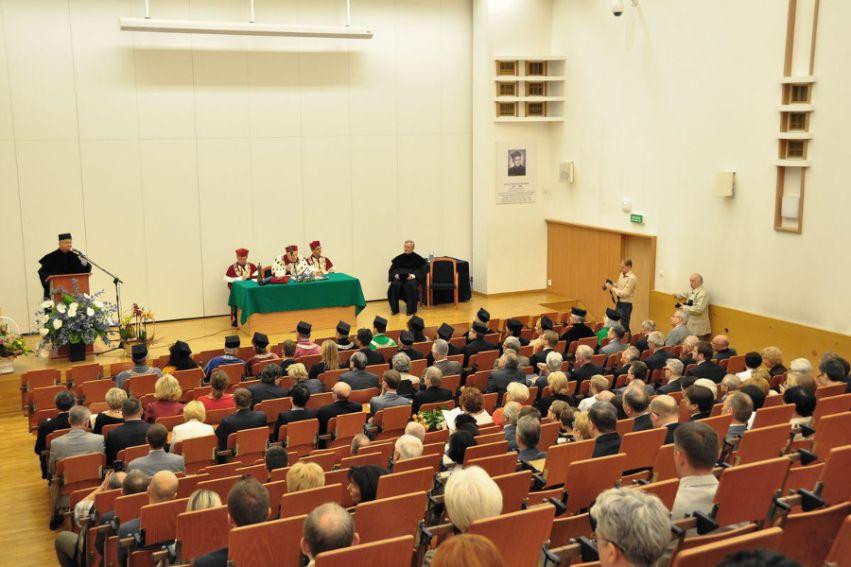 Uroczystość nadania doktoratu honoris causa prof....