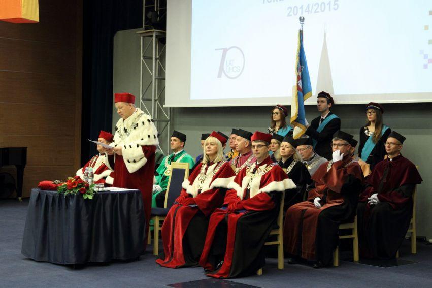 Uroczysta inauguracja roku akademickiego 2014/2015