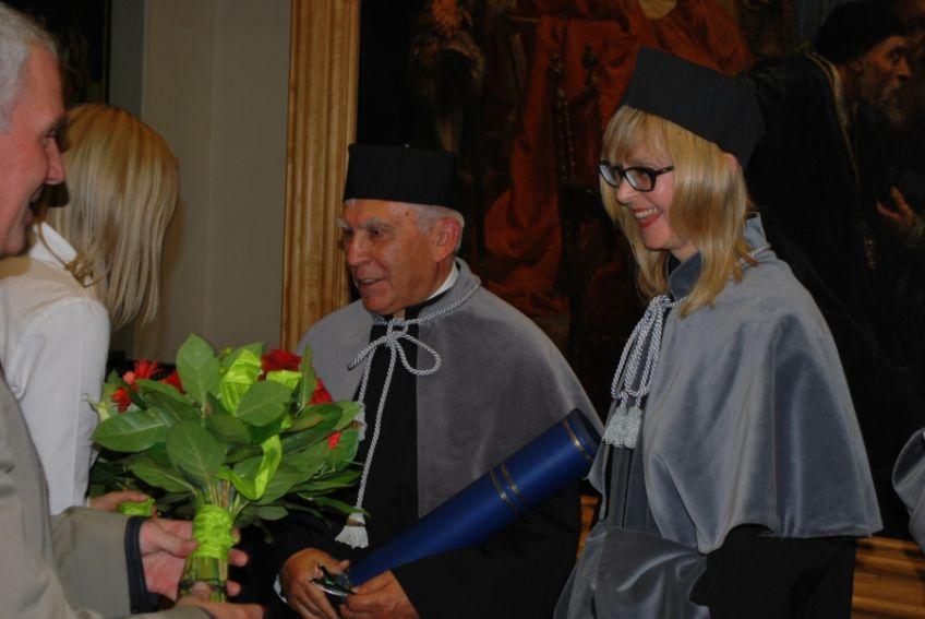 Doktor honoris causa UMCS dla prof. Adama Daniela Rotfelda