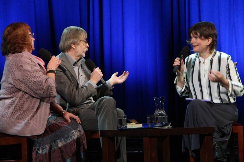 Prof. J. Mizińska - spotkanie w Teatrze Starym