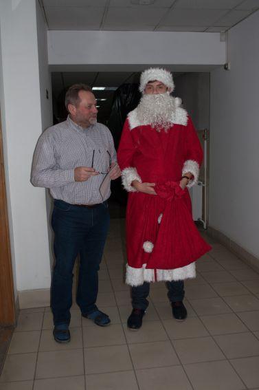 Mikołajki WBiB 2014