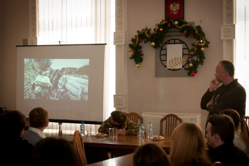 Euromajdan - spotkanie z Pawłem Bobołowiczem
