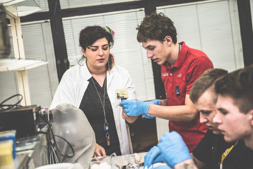 Noc Biologów 2015 - część 1