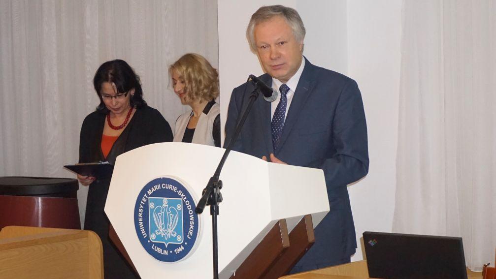Jubileusz prof. Jerzego Bartmińskiego