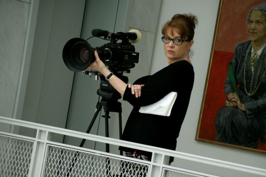 """Fotorelacja z planu filmu """"Granatowy zeszyt"""", fot. Kaja..."""