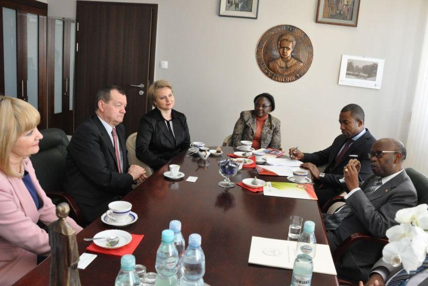 Wizyta delegacji z Angoli