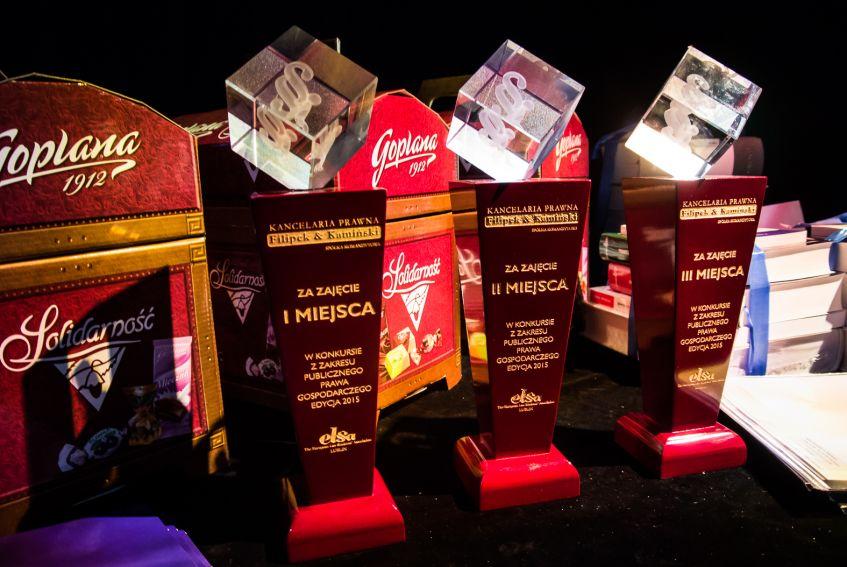 Gala konkursu Szafirowe Paragrafy