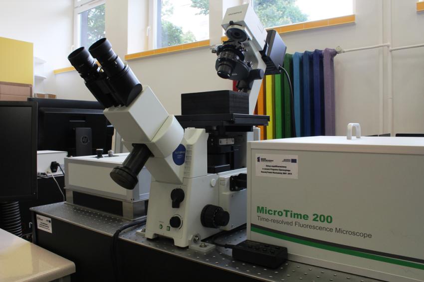 Zestaw mikroskopowy typu FLIM