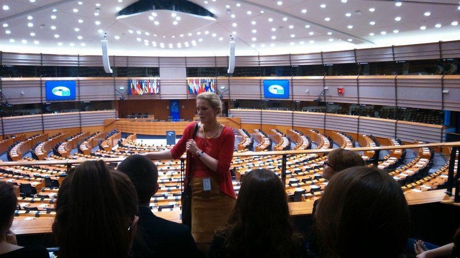 Wyjazd studyjny do Brukseli