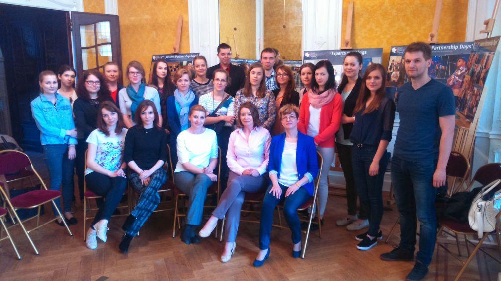 Wizyta studyjna studentów UMCS w Brukseli