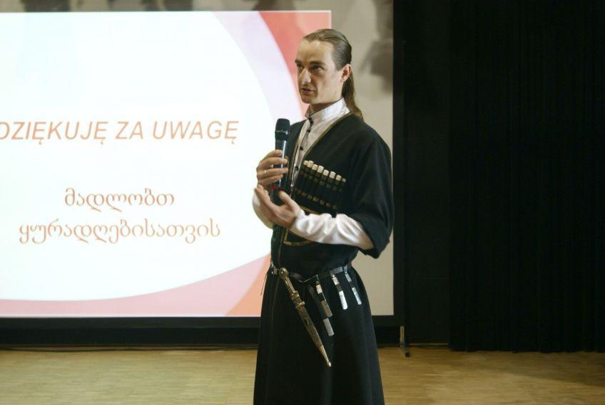 Spotkanie z Gruzją w Lublinie