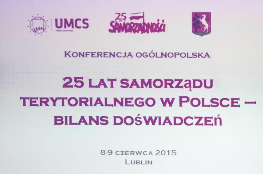 25 lat samorządu terytorialnego w Polsce - bilans...