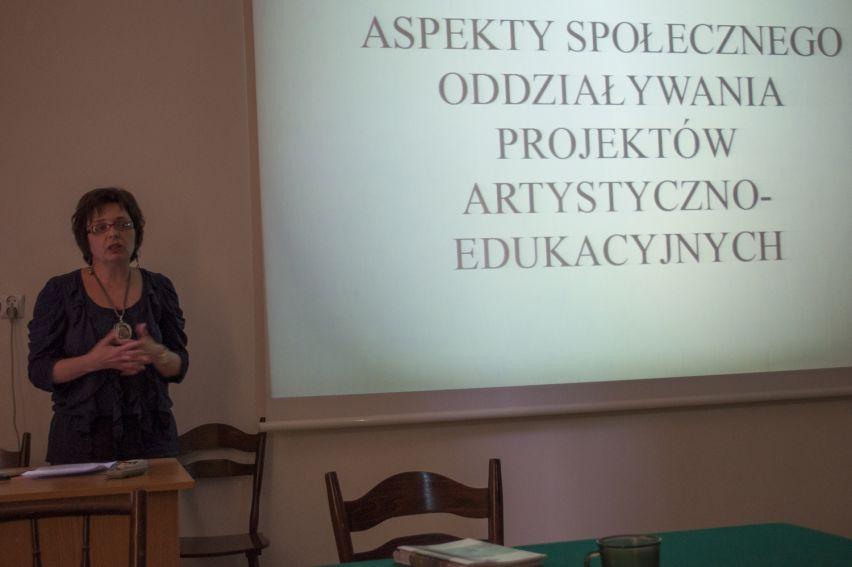 """""""Sztuka w przestrzeni publicznej"""" - Spotkanie na Wydziale..."""
