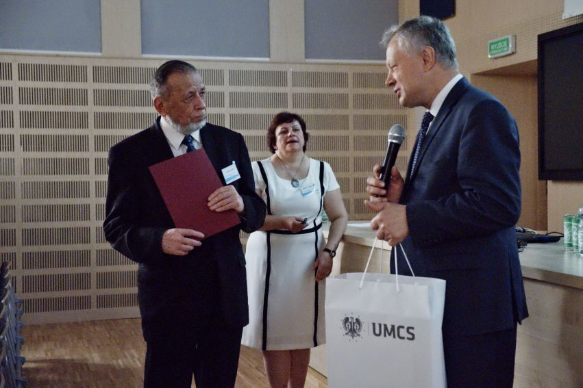 50-lecie doktoratu prof. Tomasza Goworka