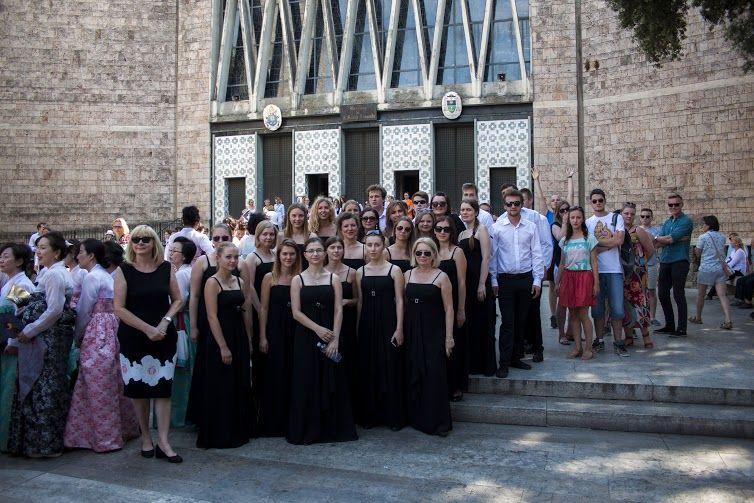 Chór Akademicki UMCS na 7. Międzynarodowym Festiwalu...