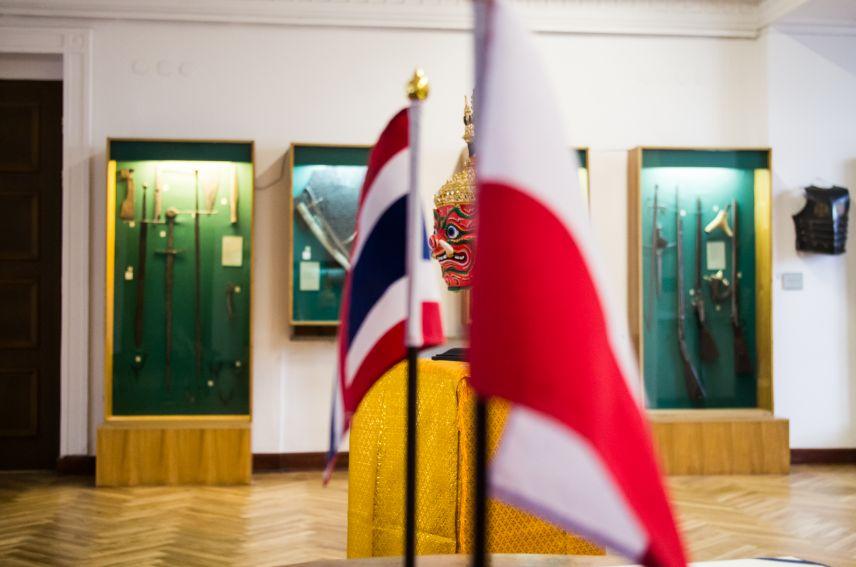 Dar Ambasady Królestwa Tajlandii dla UMCS